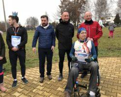 Zwycięzca na wózku - Alek Suseł