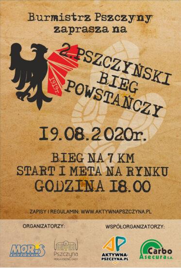 2. Pszczyński Bieg Powstańczy - oficjal