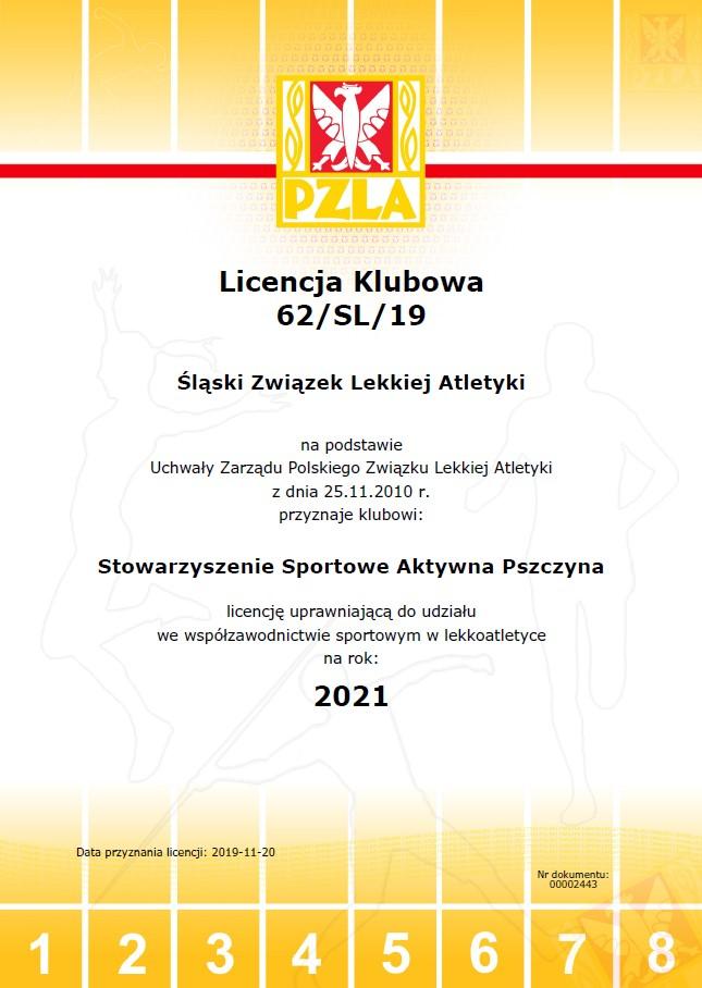 licencja klubowa
